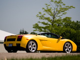 Photos of Lamborghini Gallardo Spyder US-spec 2006–08