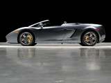 Pictures of Lamborghini Gallardo Spyder US-spec 2006–08