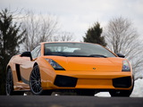 Pictures of Lamborghini Gallardo Superleggera US-spec 2007–08