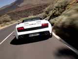 Pictures of Lamborghini Gallardo LP 560-4 Spyder 2008–12