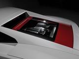 Pictures of Lamborghini Gallardo LP 560-4 Bianco Rosso 2012