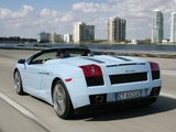 Lamborghini Gallardo Spyder 2006–08 wallpapers