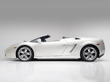 Lamborghini Gallardo Spyder US-spec 2006–08 wallpapers