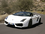 Lamborghini Gallardo LP 560-4 Spyder 2008–12 wallpapers