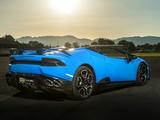 Lamborghini Huracán 800 Supercharged Spyder O.CT Tuning (LB724) 2017 photos