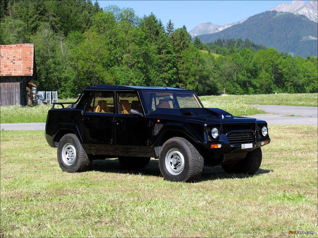 Lamborghini LM002 1986–92 pictures (1280 x 960)