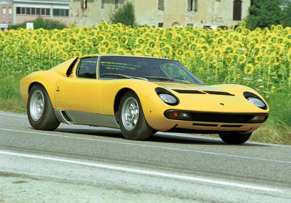 Images Of Lamborghini Miura P400 Sv 197172