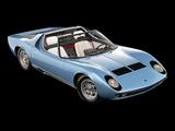 Lamborghini Miura Roadster 1968 photos