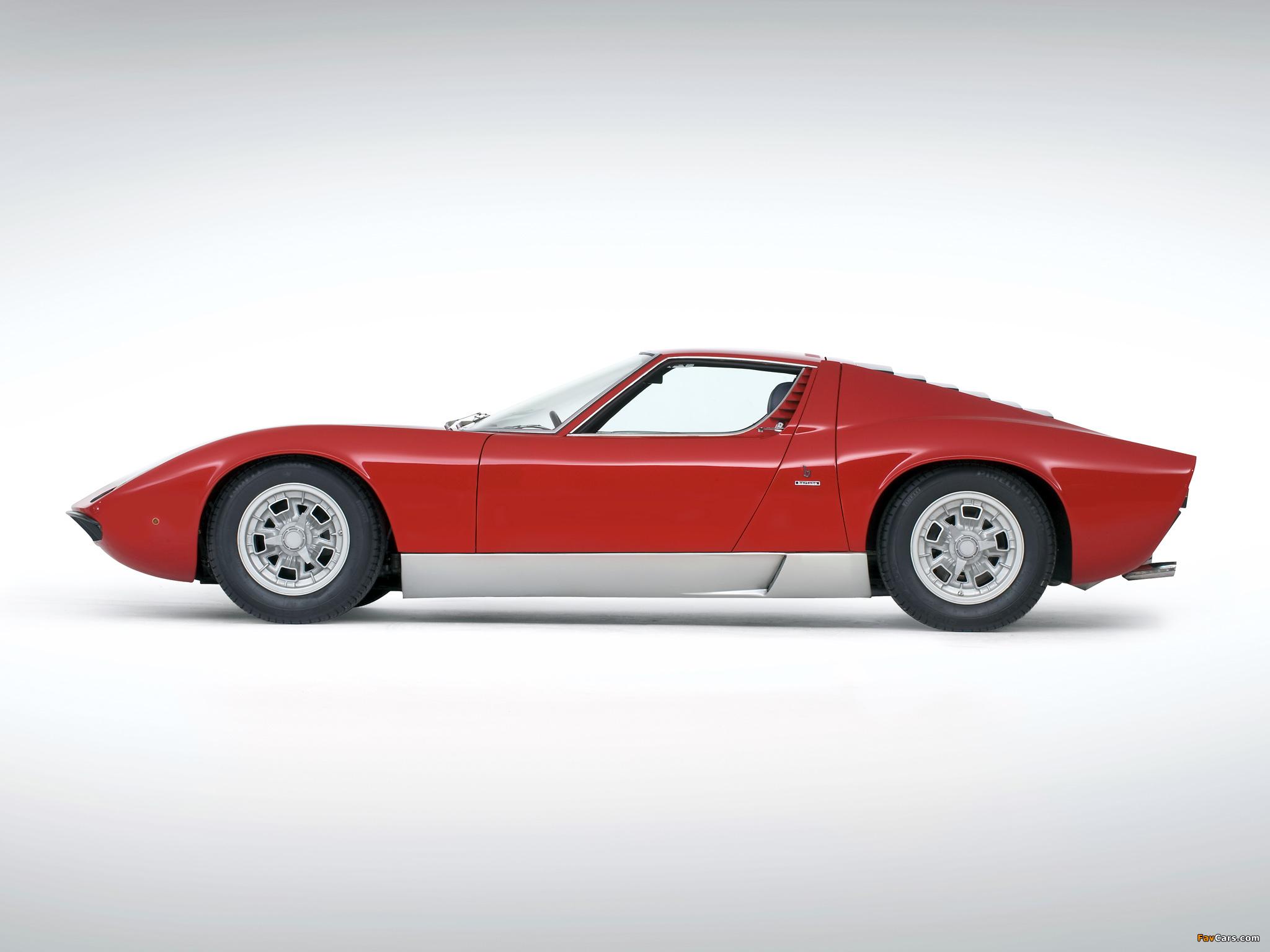 Lamborghini Miura P400 S 1969 71 Images 2048x1536