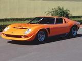 Lamborghini Miura P400 SVJ 1971–72 photos