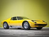 Photos of Lamborghini Miura P400 SV Prototipo 1971