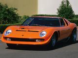 Photos of Lamborghini Miura P400 SVJ 1971–72