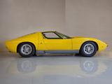 Pictures of Lamborghini Miura P400 1966–69