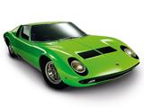 Lamborghini Miura P400 S 1969–71 wallpapers