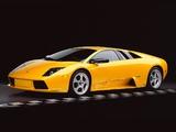 Lamborghini Murcielago US-spec 2001–06 wallpapers
