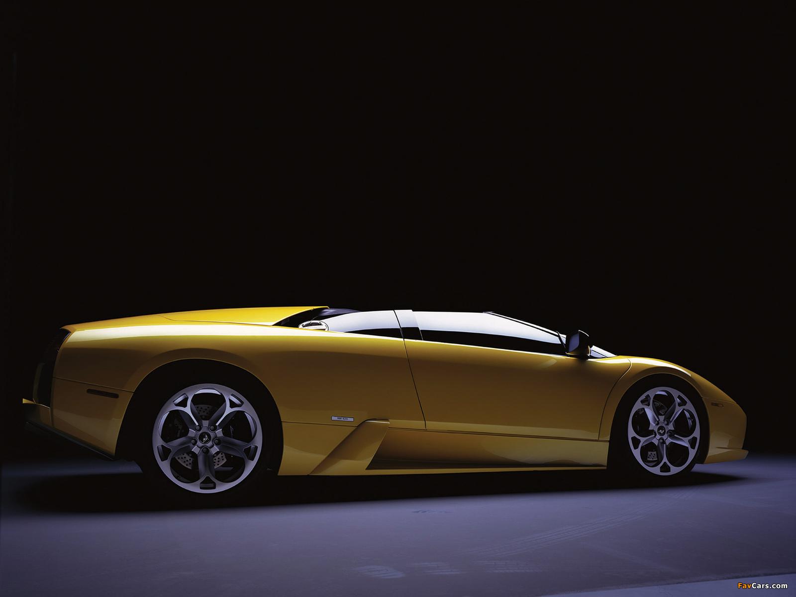 Lamborghini Murcielago Barchetta Concept 2002 pictures (1600 x 1200)