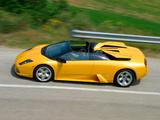 Lamborghini Murcielago Roadster 2004–06 images
