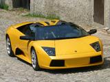Lamborghini Murcielago Roadster 2004–06 photos