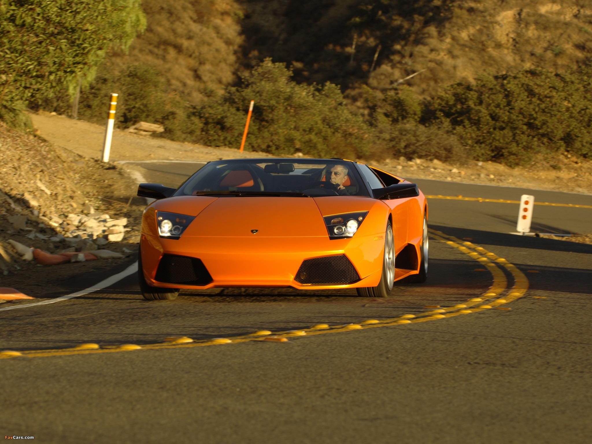 Lamborghini Murcielago LP640 Roadster 2006–10 images (2048 x 1536)
