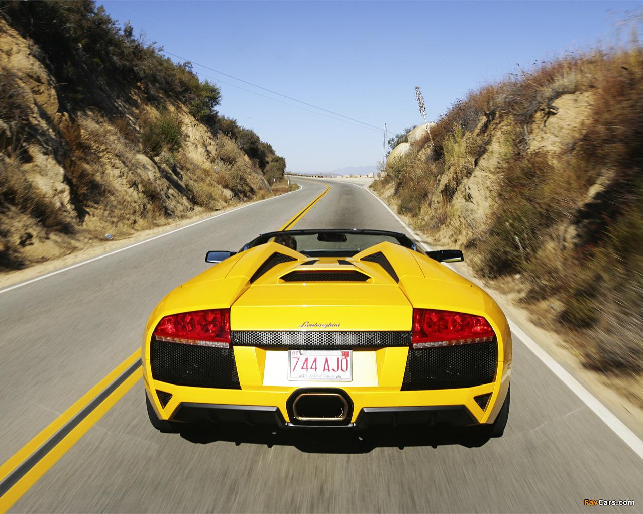 Lamborghini Murcielago LP640 Roadster 2006–10 images (1280 x 1024)