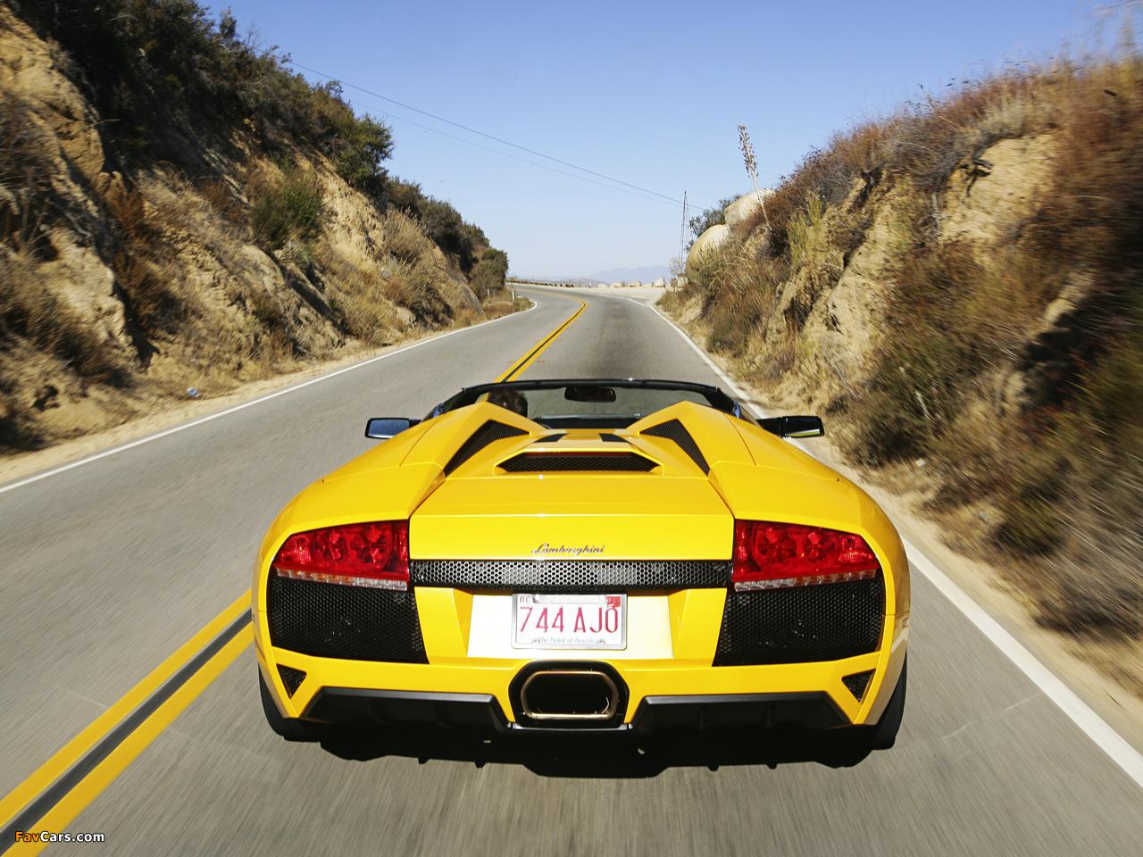 Lamborghini Murcielago LP640 Roadster 2006–10 images (1280 x 960)