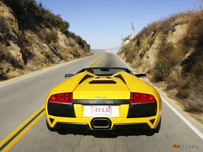 Lamborghini Murcielago LP640 Roadster 2006–10 images (800 x 600)