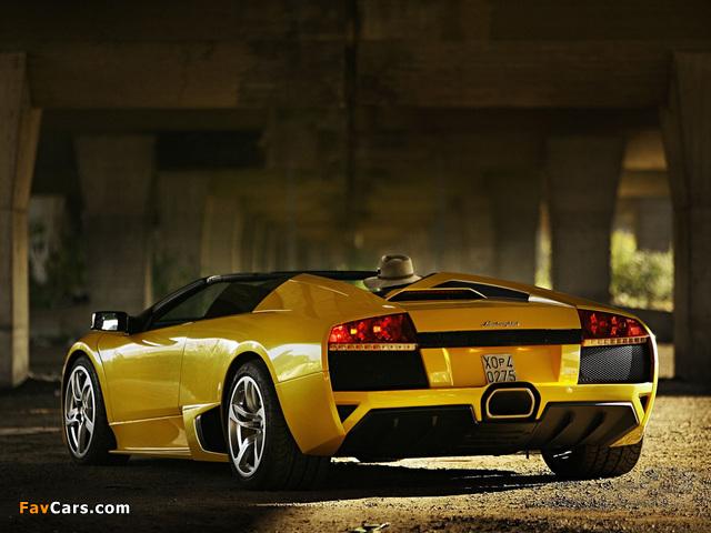 Lamborghini Murcielago LP640 Roadster 2006–10 wallpapers (640 x 480)