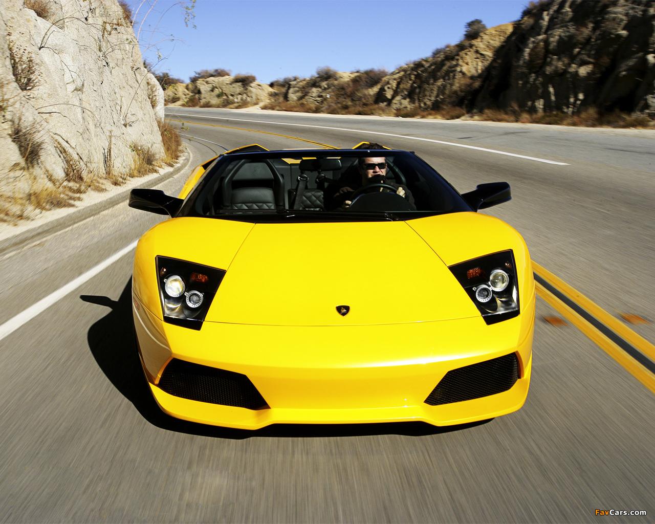 Lamborghini Murcielago LP640 Roadster 2006–10 wallpapers (1280 x 1024)