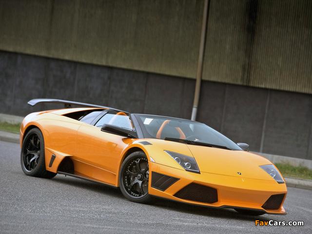 IMSA Lamborghini Murcielago LP640 Roadster 2008 images (640 x 480)