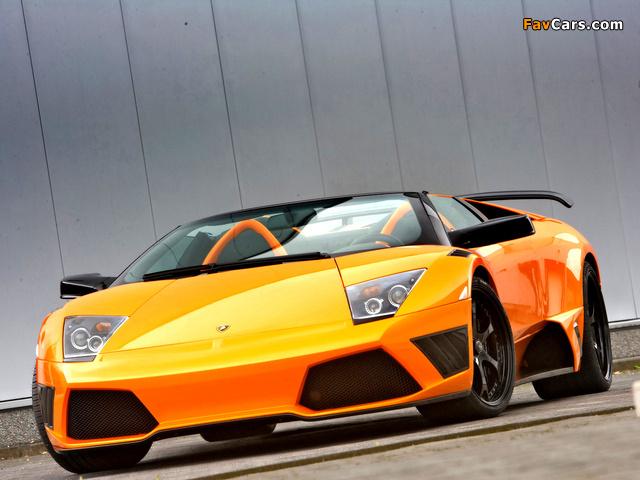 IMSA Lamborghini Murcielago LP640 Roadster 2008 pictures (640 x 480)