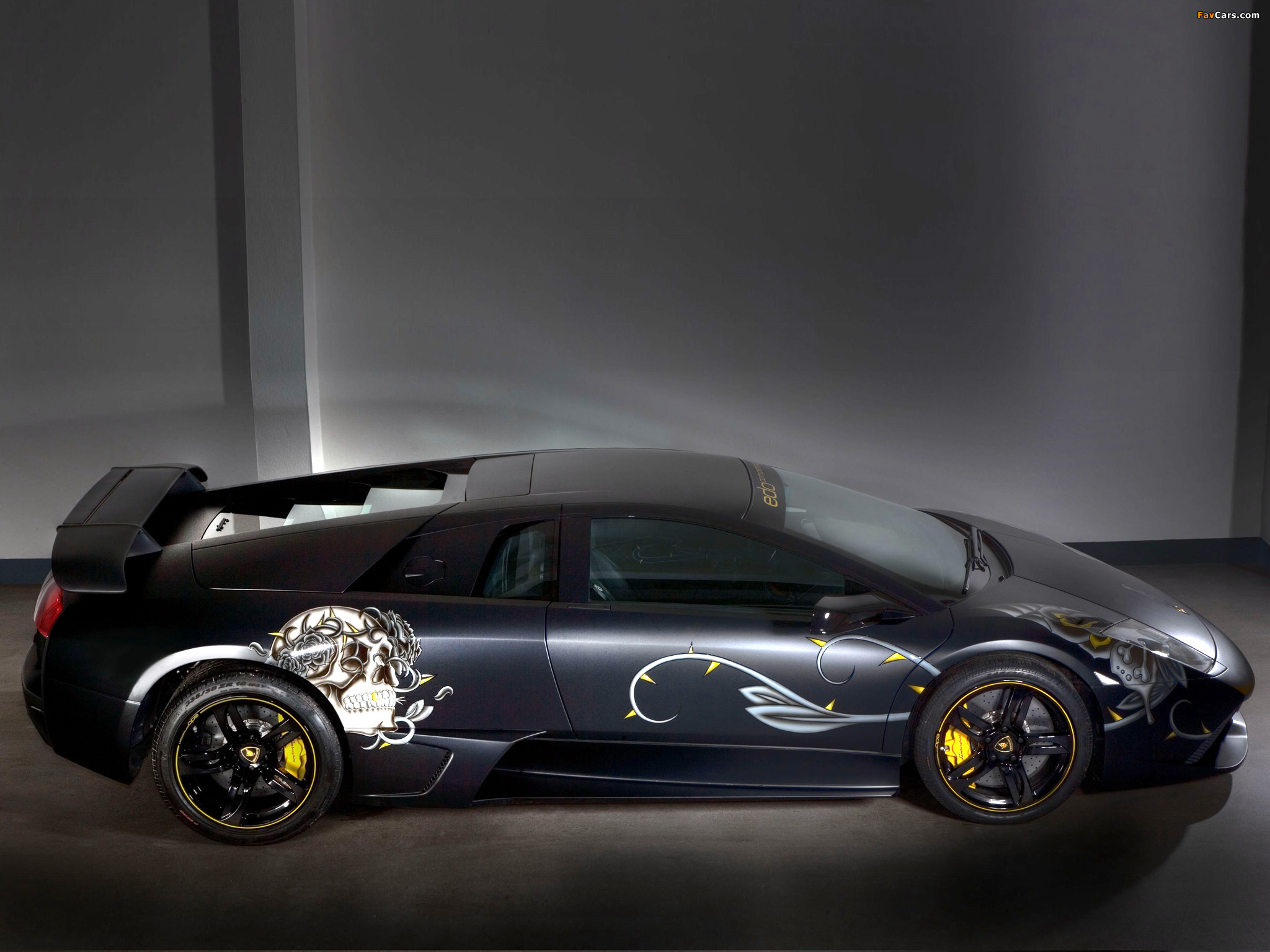 Edo Competition Lamborghini LP710 Audigier Limited Edition 2008 wallpapers (2048 x 1536)