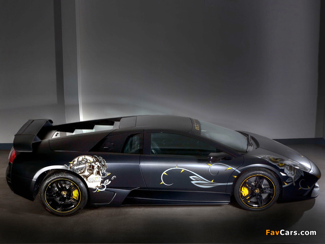 Edo Competition Lamborghini LP710 Audigier Limited Edition 2008 wallpapers (640 x 480)
