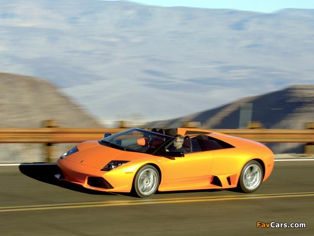 Photos of Lamborghini Murcielago LP640 Roadster 2006–10 (640 x 480)