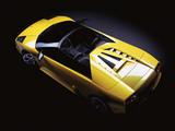 Pictures of Lamborghini Murcielago Barchetta Concept 2002