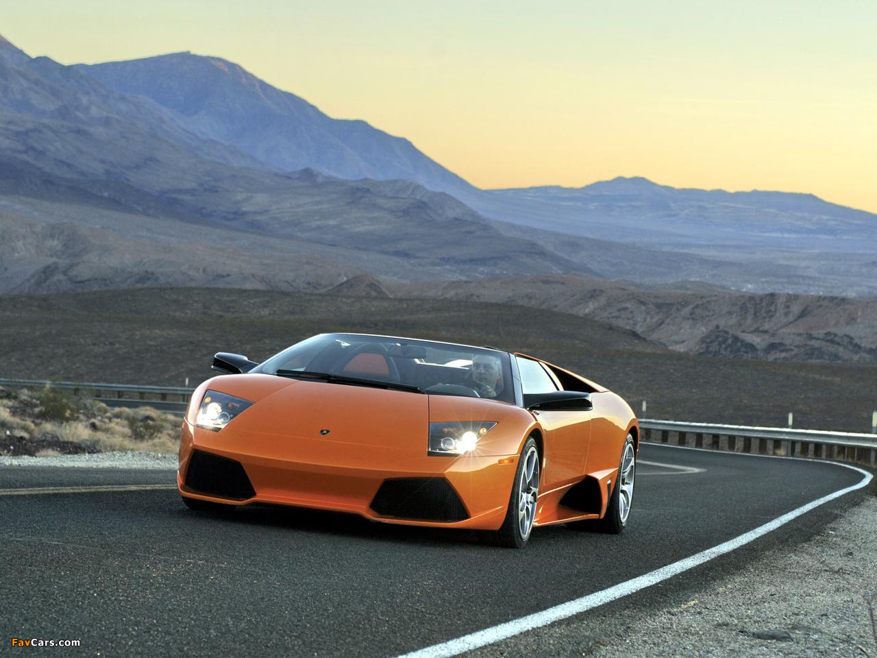 Lamborghini Information >> Pictures of Lamborghini Murcielago LP640 Roadster 2006–10 (1280x960)