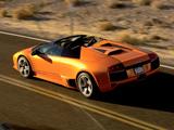 Lamborghini Murcielago LP640 Roadster 2006–10 wallpapers