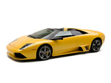 Lamborghini Murcielago LP640 Roadster 2006–10 wallpapers