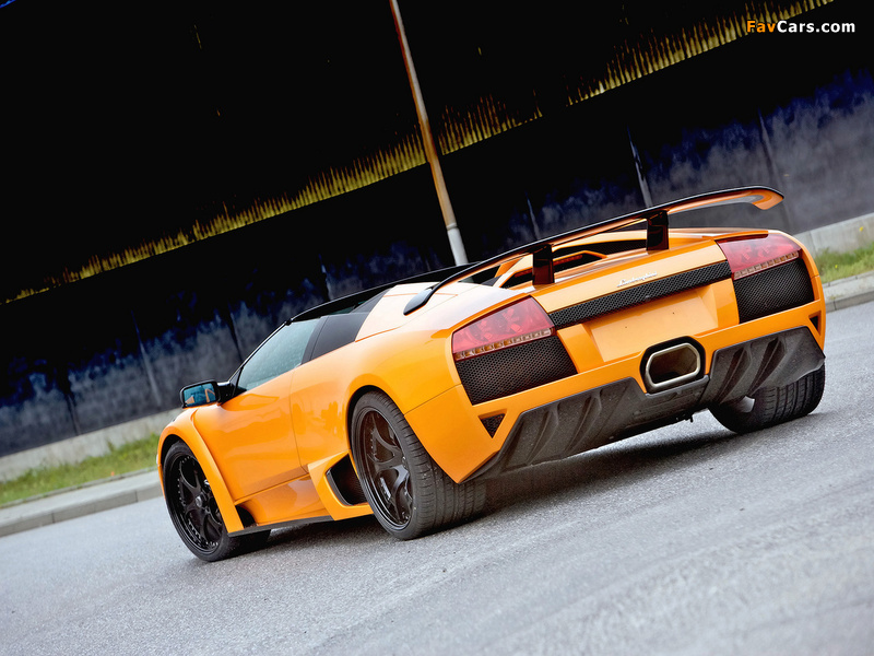 IMSA Lamborghini Murcielago LP640 Roadster 2008 wallpapers (800 x 600)