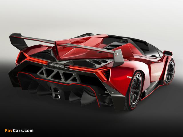 Lamborghini Veneno Roadster 2014 pictures (640 x 480)