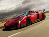 Lamborghini Veneno Roadster 2014 wallpapers