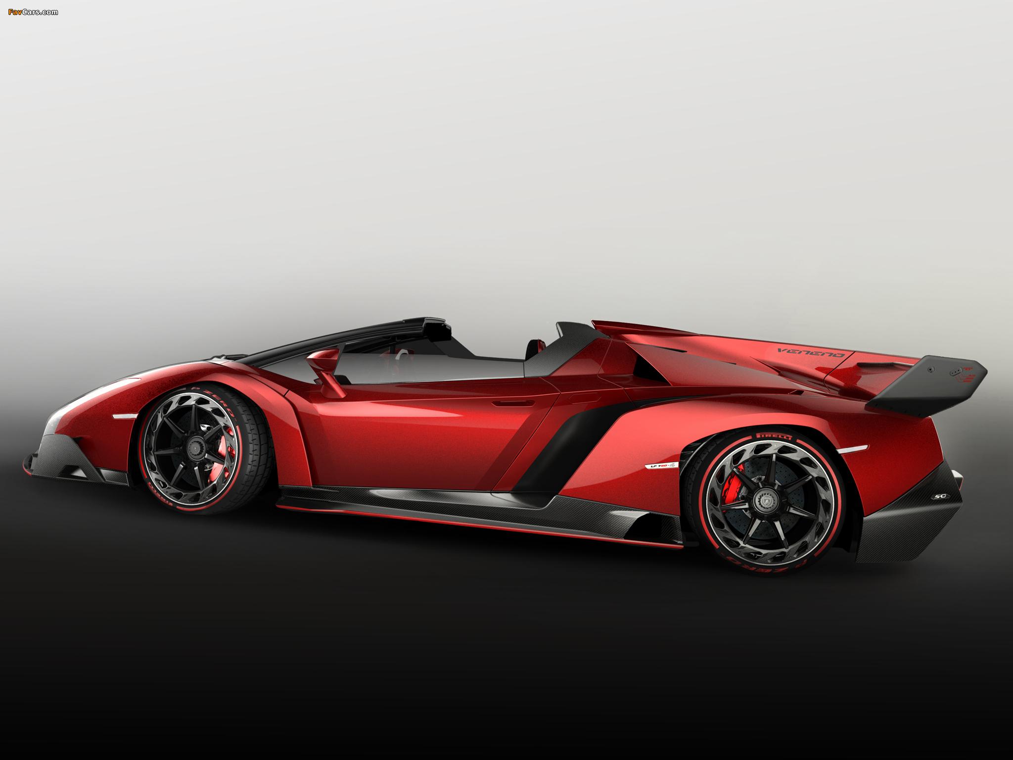 Lamborghini Veneno Roadster 2014 wallpapers (2048 x 1536)