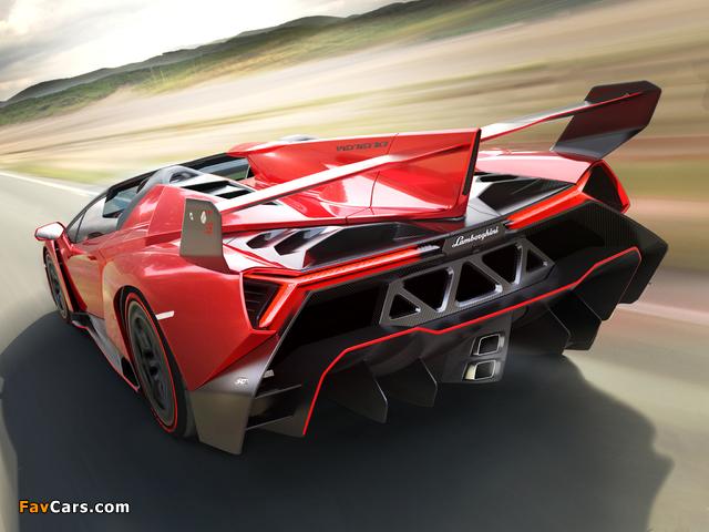 Pictures of Lamborghini Veneno Roadster 2014 (640 x 480)