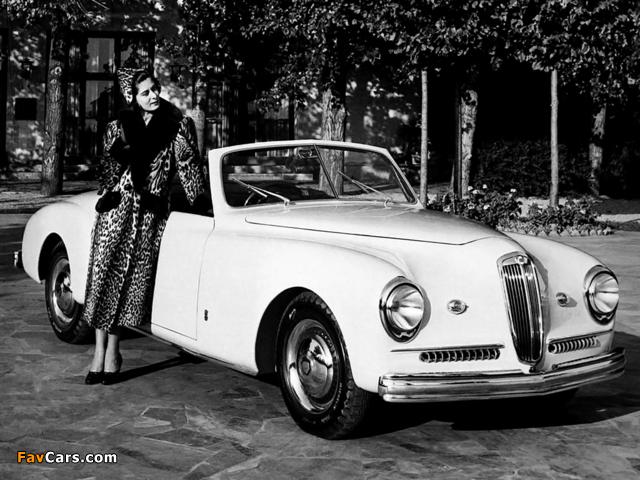 Images of Lancia Aprilia Cabriolet 1940–49 (640 x 480)