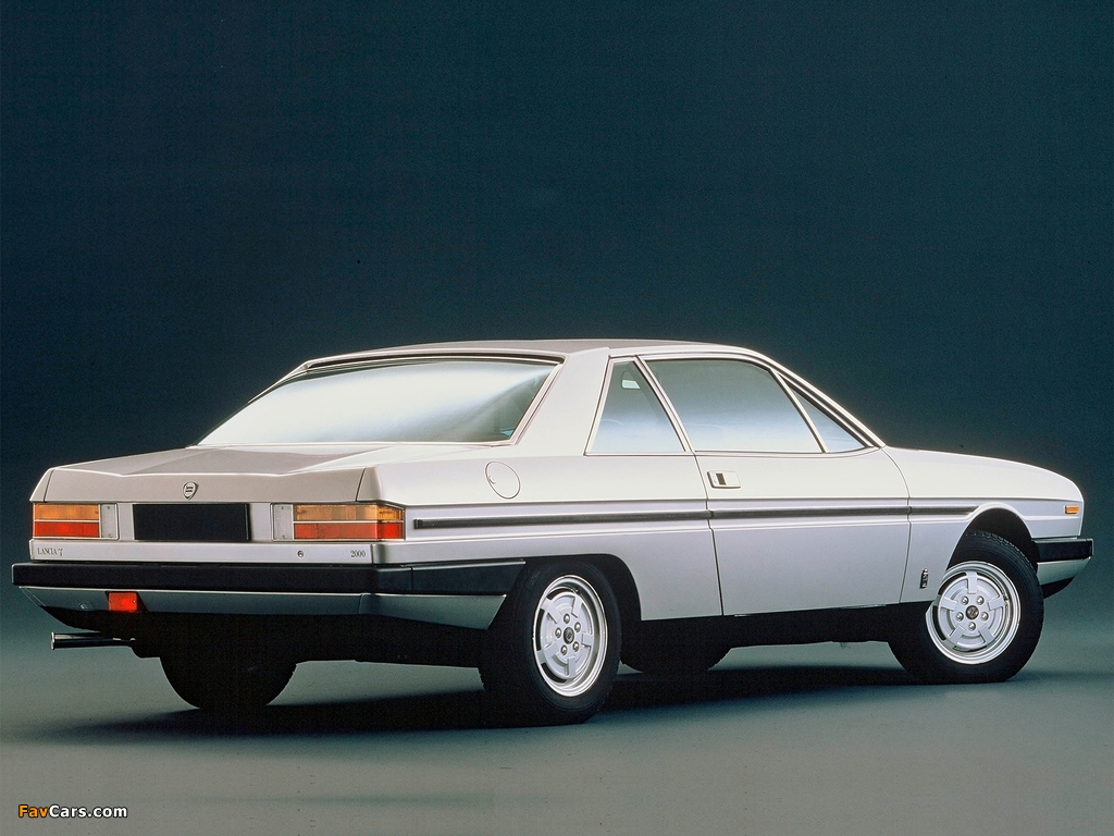Lancia Gamma Coupe (2 Serie) 1980–84 wallpapers (1024 x 768)