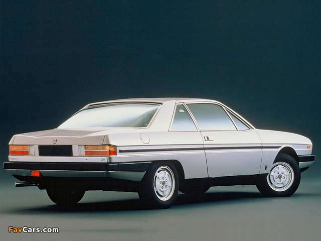 Lancia Gamma Coupe (2 Serie) 1980–84 wallpapers (640 x 480)