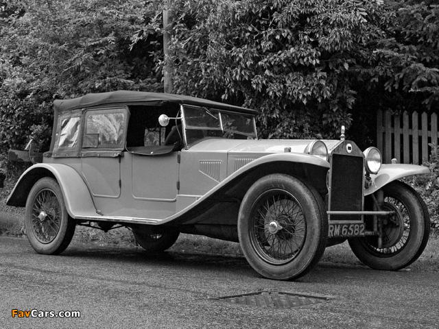 Images of Lancia Lambda Corto (7 serie) 1926–28 (640 x 480)