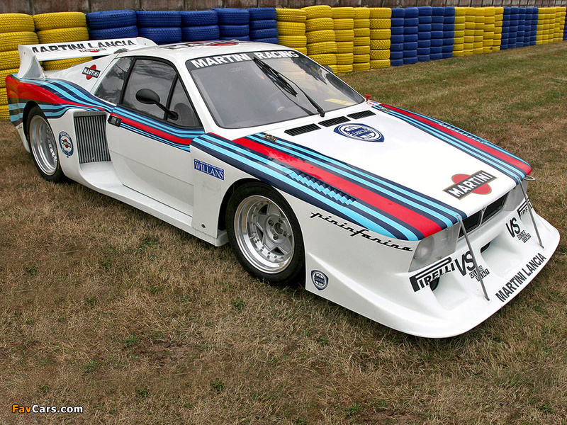 Lancia Montecarlo Turbo Gruppe 5 1978–81 wallpapers (800 x 600)