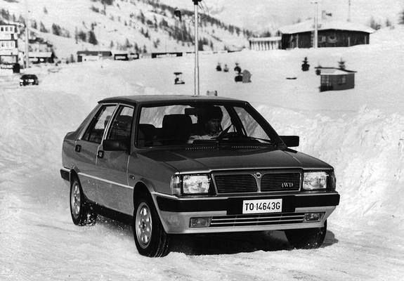 Pictures Of Lancia Prisma 4wd 831 198687