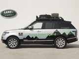Images of Range Rover Hybrid Prototype (L405) 2013