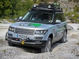 Range Rover Hybrid Prototype (L405) 2013 pictures